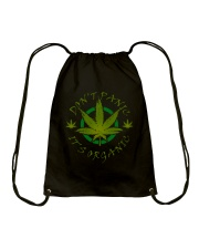 Don't Panic It's Organic Drawstring Bag thumbnail