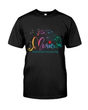 Music Makes Everything Better Premium Fit Mens Tee thumbnail