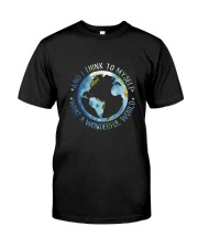 Myself What A Wonderful World Premium Fit Mens Tee tile