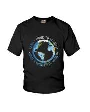 Myself What A Wonderful World Youth T-Shirt tile