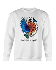 Myself What A Woderful World 1 Crewneck Sweatshirt thumbnail