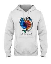Myself What A Woderful World 1 Hooded Sweatshirt front