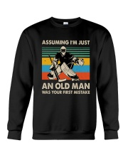I'm Just An Old Man Crewneck Sweatshirt thumbnail