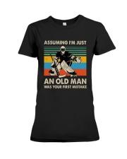 I'm Just An Old Man Premium Fit Ladies Tee thumbnail