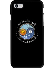 Myself What A Wonderful World 8 Phone Case tile