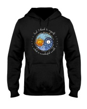 Myself What A Wonderful World 8 Hooded Sweatshirt front