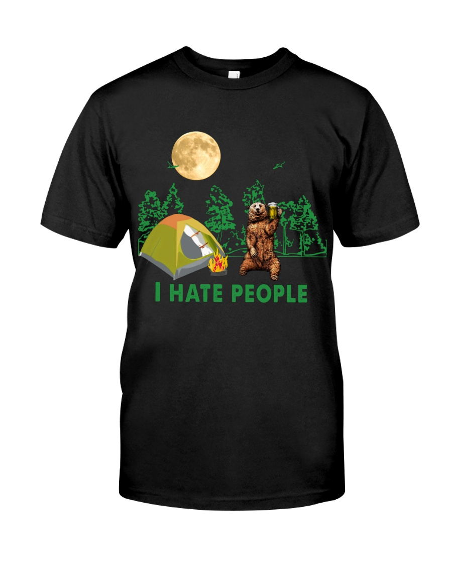 CP-T-NA-2911192-I Hate People Classic T-Shirt