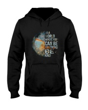 Be Kind Hooded Sweatshirt front