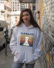 Llamaste Hooded Sweatshirt lifestyle-unisex-hoodie-front-1
