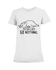 CA-T-0304208-ND-To Do List Nothing Premium Fit Ladies Tee thumbnail