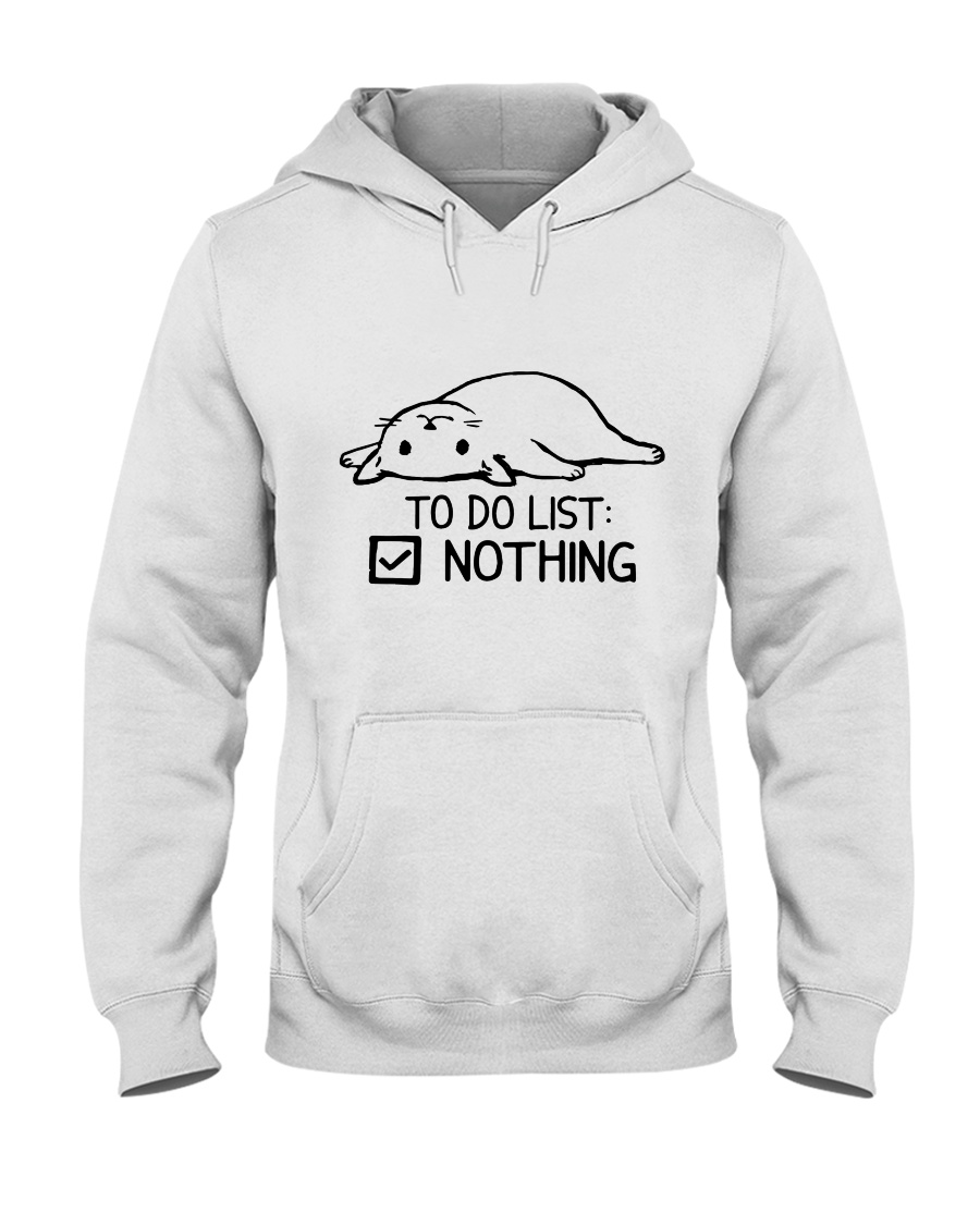 CA-T-0304208-ND-To Do List Nothing Hooded Sweatshirt
