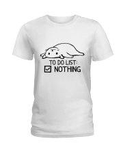 CA-T-0304208-ND-To Do List Nothing Ladies T-Shirt thumbnail