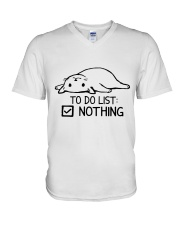 CA-T-0304208-ND-To Do List Nothing V-Neck T-Shirt thumbnail