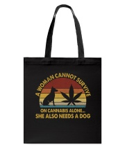Can Not Survive On Cannabis Tote Bag thumbnail