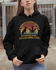 Can Not Survive On Cannabis Hooded Sweatshirt apparel-hooded-sweatshirt-lifestyle-07
