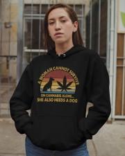 Can Not Survive On Cannabis Hooded Sweatshirt apparel-hooded-sweatshirt-lifestyle-08