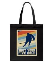 Shut Your Five Hole Tote Bag thumbnail