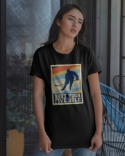 Shut Your Five Hole Classic T-Shirt apparel-classic-tshirt-lifestyle-08