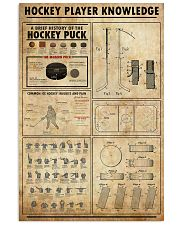 Hockey Player Knowledge 11x17 Poster front