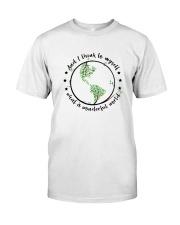 Myself What A Wonderful World 2 Classic T-Shirt thumbnail