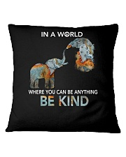 Be Kind In A World Square Pillowcase thumbnail