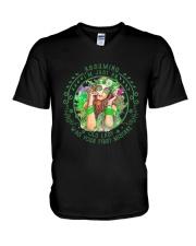 I'm An Old Lady V-Neck T-Shirt thumbnail