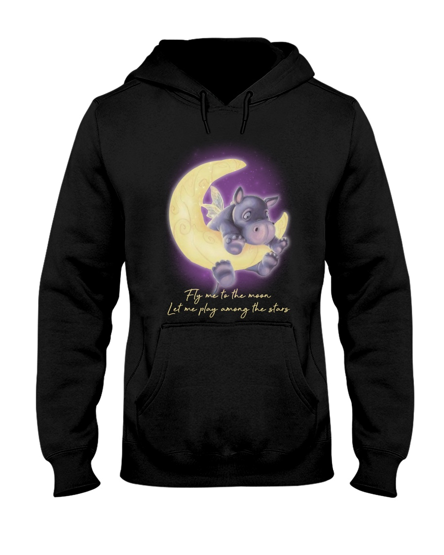 Fly Me To The Moon 2 Hooded Sweatshirt