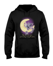 Fly Me To The Moon 2 Hooded Sweatshirt front