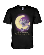 Fly Me To The Moon 2 V-Neck T-Shirt thumbnail