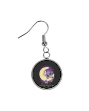 Fly Me To The Moon 2 Circle Earrings thumbnail
