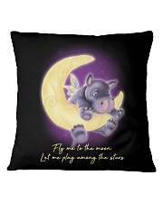 Fly Me To The Moon 2 Square Pillowcase thumbnail
