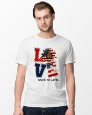 Needs No Words Classic T-Shirt lifestyle-mens-crewneck-front-15