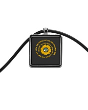You May Say I Am A Dreamer Cord Rectangle Necklace thumbnail
