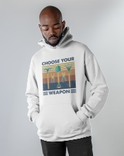 Choose Your Weapon Hooded Sweatshirt apparel-hooded-sweatshirt-lifestyle-front-09