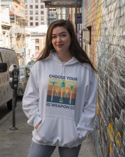 Choose Your Weapon Hooded Sweatshirt lifestyle-unisex-hoodie-front-1