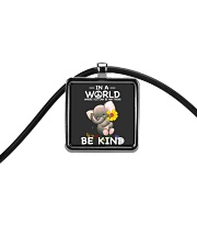 Can Be Anything Be Kind 5 Cord Rectangle Necklace thumbnail