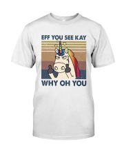 Why Oh You Premium Fit Mens Tee thumbnail