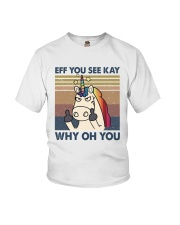 Why Oh You Youth T-Shirt thumbnail