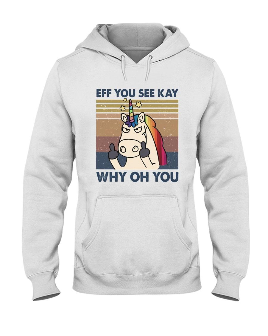 Why Oh You Hooded Sweatshirt