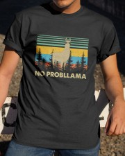 No Probllama Classic T-Shirt apparel-classic-tshirt-lifestyle-28