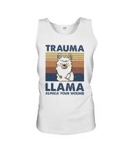 Trauma Lllama Unisex Tank thumbnail
