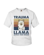 Trauma Lllama Youth T-Shirt thumbnail