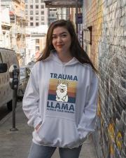 Trauma Lllama Hooded Sweatshirt lifestyle-unisex-hoodie-front-1