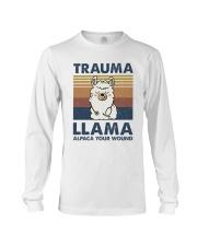 Trauma Lllama Long Sleeve Tee thumbnail
