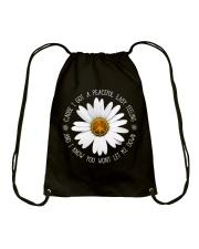 A Peaceful Easy Feeling Drawstring Bag thumbnail