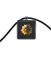 Create Your Own Sunshine 2 Cord Rectangle Necklace thumbnail