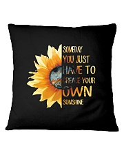 Create Your Own Sunshine 2 Square Pillowcase tile