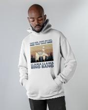 Llama Llama Bing Bang Hooded Sweatshirt apparel-hooded-sweatshirt-lifestyle-front-09