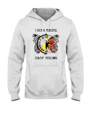 I Got A Peaceful Easy Feeling Hooded Sweatshirt thumbnail