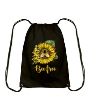Bee Happy Drawstring Bag thumbnail